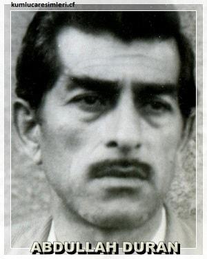 ABDULLAH DURAN